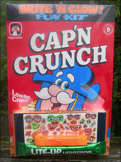 its a box of capn crunch from the halloween season of 1990 and it is mind blowing you know youre in for a ride when a cereal prize is so - Captain Crunch Halloween