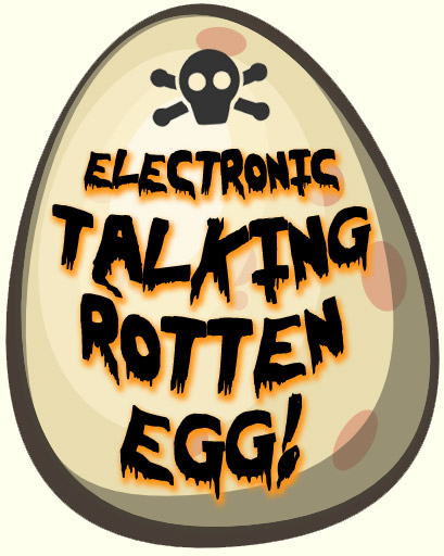 Rotten Eggs Clip Art Talking rotten egg could