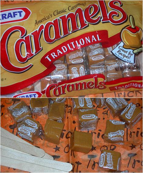 kraft caramels replica
